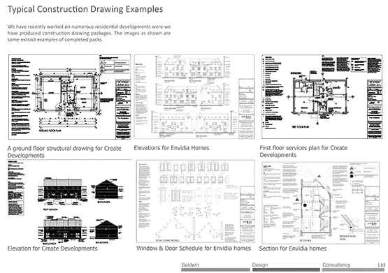 Working / Construction Drawings