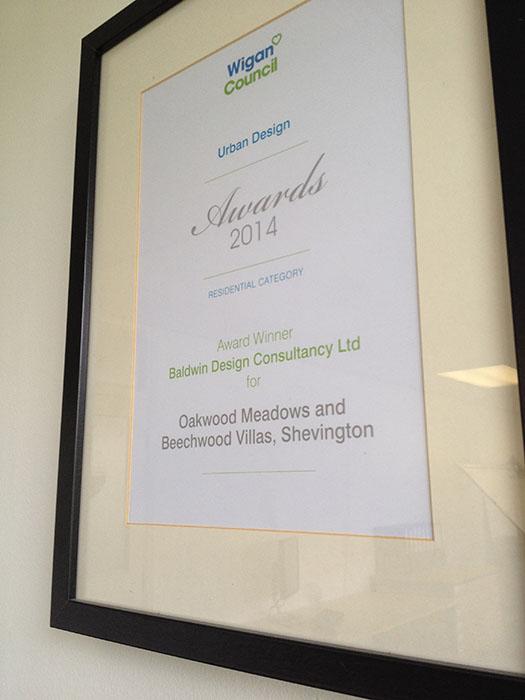 Wigan Council Urban Development Award