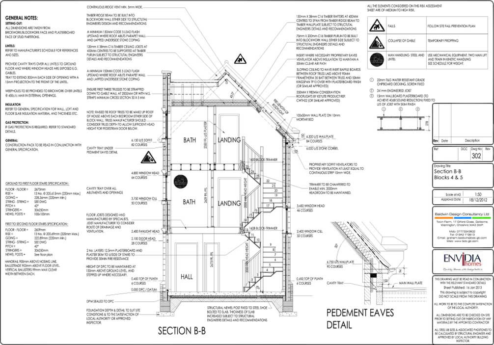 Working Construction Drawings Baldwin Design