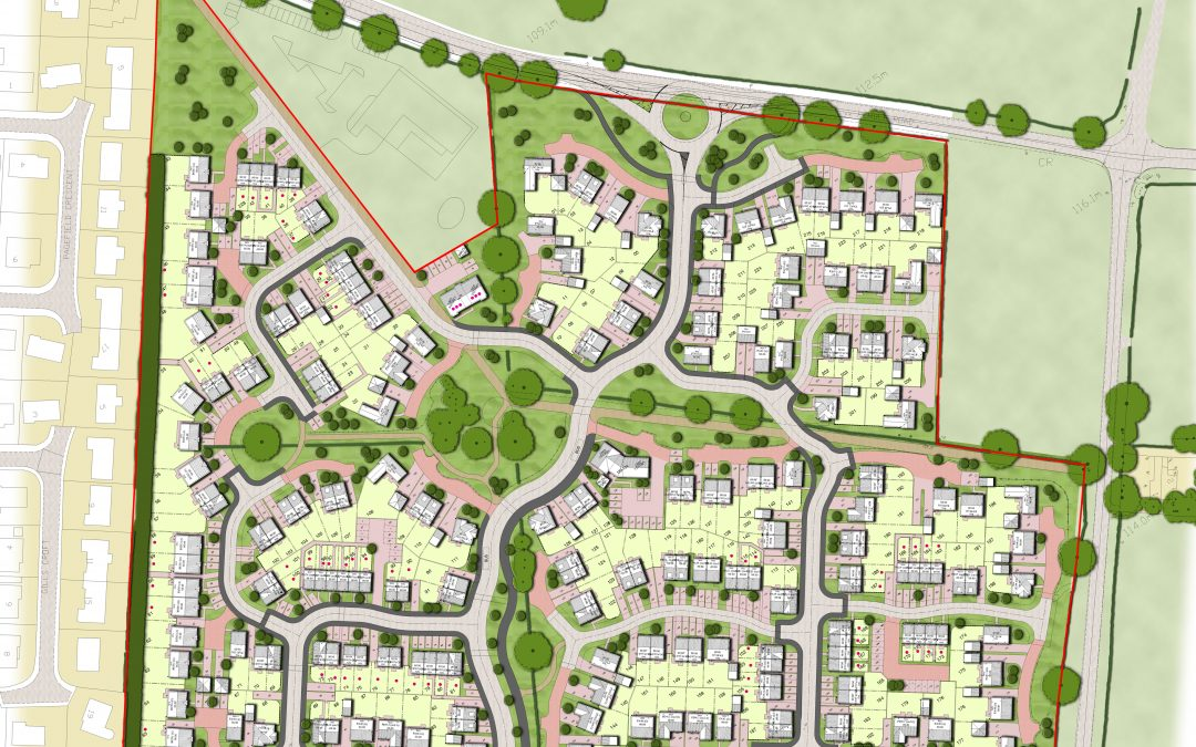 Reserved Matters Planning Application approved for 228 dwellings at Pendle Road, Clitheroe